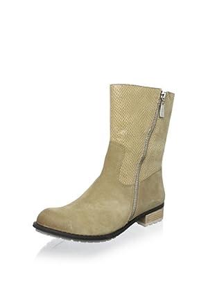 Matt Bernson Women's Dakota Side Zip Boot (Taupe/Snake)