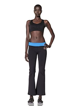David Lerner Women's Trista Yoga Pants (Black/Atlantis)
