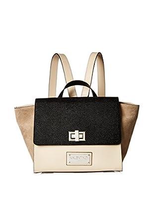 Valentino Bags by Mario Valentino Women's Niño Convertible Backpack, Dove Grey
