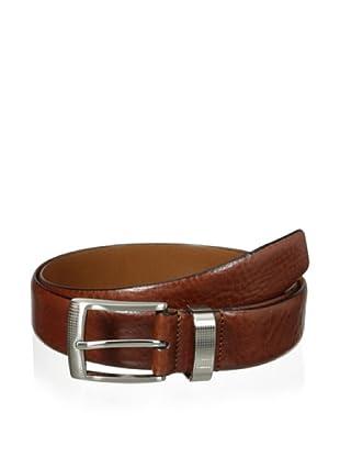 J.Campbell Los Angeles Men's Smooth Leather Belt (Cognac)