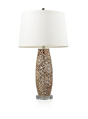 Artistic Lighting Ceramic Table Lamp, Golden Pearl