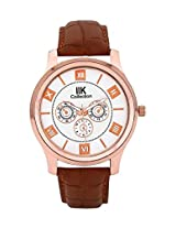 Iik Collection Analogue White Dial Men's Watch-Iik505M