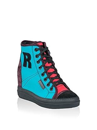 Ruco Line Sneaker Zeppa 4908 Multy Bijoux