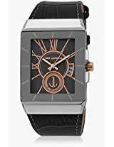 5114003 Black/Grey Analog Watch Ted Lapidus