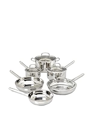 BergHOFF 10-Piece Earthchef Boreal Collection Stainless Steel Cookware Set