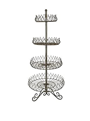 Three Hands 4-Tier Serving Tray