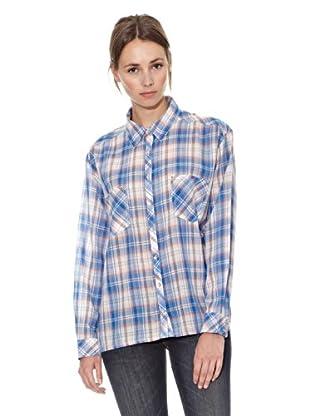 Mango Camisa Camicia (Azul)