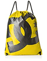 DC Polyester Lemon Chrome Gym Bag (ADYBT00005-YKB0)