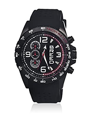 Breed Reloj con movimiento cuarzo japonés Brd4405 Negro 45  mm