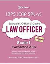 IBPS (CRP SPL-V)  Specialist Officer  LAW OFFICER 2016 Study Guide