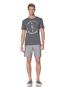 Rhythm Men's Indian Street Fit Tee (Char Heather)