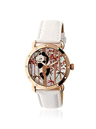 Bertha Women's BR4509 Lilly White/Multicolor Leather Watch
