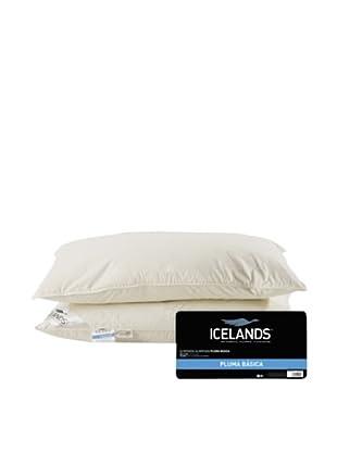 Icelands Almohada De Pluma (Blanco)