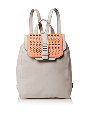 Danielle Nicole Women's Athens Backpack, Salmon/Grey