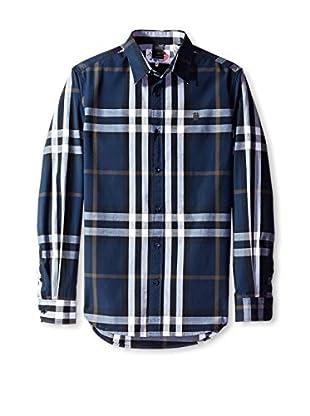 Desigual Men's Plaid Shirt