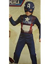 Captain America MOVIE Retro Basic Costume