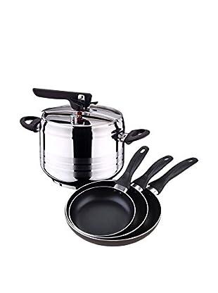 Bergner Batería de cocina 4 Piezas PK355 Bicolor