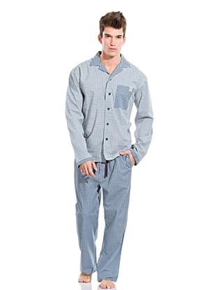 Springfield Pyjama (Blau)