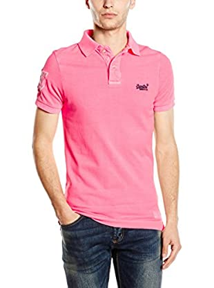 Superdry Polo Vintage Destroyed-Roun