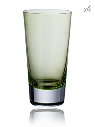 Villeroy & Boch Longdrinkglas Colour Concept 4 Stk. (grün)
