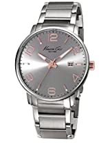 Kenneth Cole Analog Grey Dial Mens Watch-IKC9393