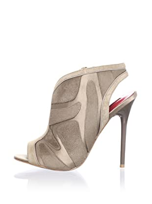 Charles Jourdan Collection Women's Elison Open-Toe Pump (Taupe)