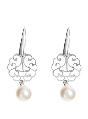 Le Perla di Emi Kaway Pendientes Adrina Plata Perla 7.5-8 mm