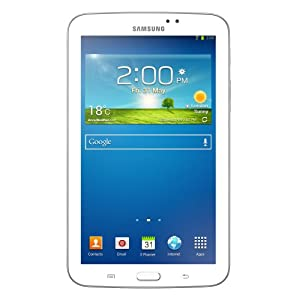 Samsung Galaxy Tab 3 SM-T211 Tablet with Bluetooth Headset (7-inch, 8GB, WiFi, 3G, Voice Calling), White
