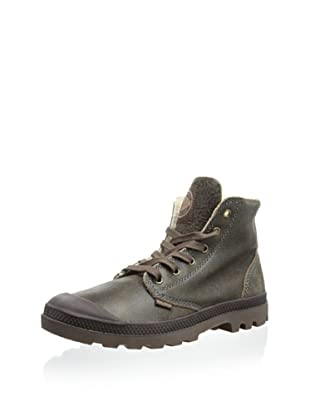 Palladium Men's Pampa Hi Leather S Boot (Rootbeer)