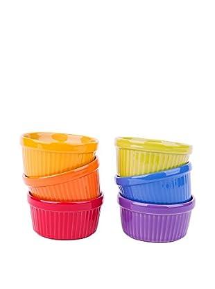 Molecuisine Set Molde Para Cupcakes 6 Uds. Trendy Multicolor