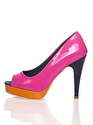 Refresh Zapatos Charol (Fucsia)