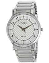 Timex Classics Analog White Dial Men's Watch - TI000R40800