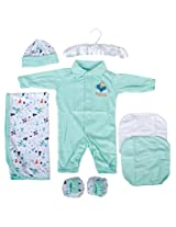 Mee Mee MM-33044A Pampering Present for New Borns Combo Set (Green)