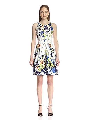 Chetta B Women's Floral Fit & Flare Dress