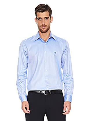 Caramelo Camisa Jean-Marc· (Azul)