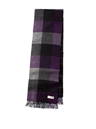 Joseph Abboud Men's Blocked Scarf (Purple)