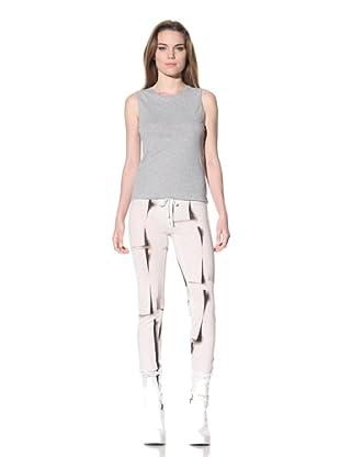 Ann Demeulemeester Women's Slim Leg Drawstring Pant (Off-White)