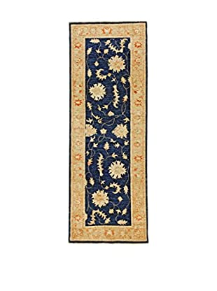 Eden Teppich Royal Farahan blau/elfenbein 75 x 207 cm