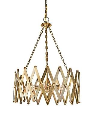 Feiss 4-Light Hugo, Bali Brass