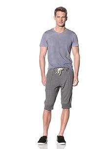 Eubiq Men's Speckled Knit Shorts (Speckled Grey)