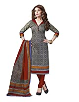 Suhanee Womens Cotton Unstitched Dress Material (Suhanee`S Exclusive Snehaa 1076 _Multi-Coloured)