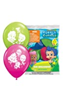 "Pioneer National Latex Bubble Guppies 12"" Latex Balloons, 6 Count"