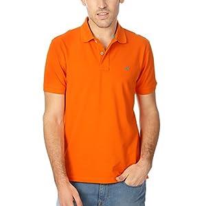 Allen Solly Men's Cotton Polo [24851_Orange_M]