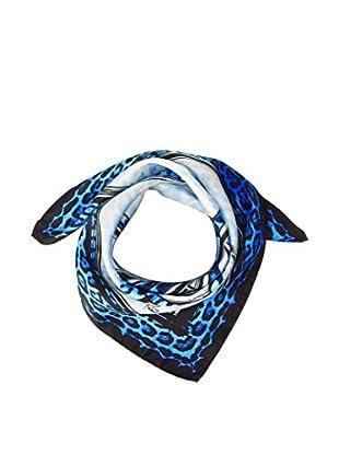 Roberto Cavalli Fular  Azul 68 x 68 cm