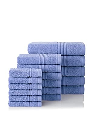 Chortex 17-Piece Ultimate Towel Set, Chambray