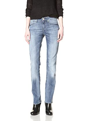 Mavi Women's Molly Straight Leg Jean (Light Brushed Dominique)
