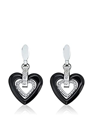 ART DE France Pendientes Heart-Shaped