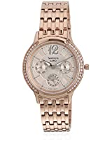 Sheen Ashe-3030Pg-9Audr-Sx091 Golden/Rose Gold Analog Watch Casio