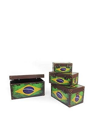 Novità Home Set Baúl 4 Uds. Brasil