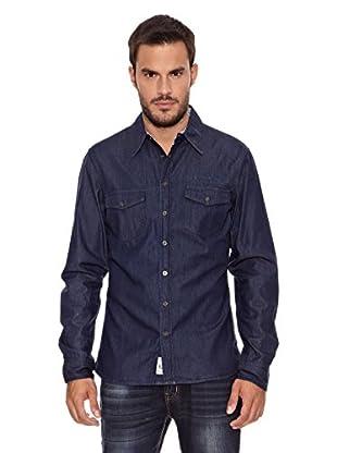 Paul Stragas Camisa Hombre Pike (Azul)